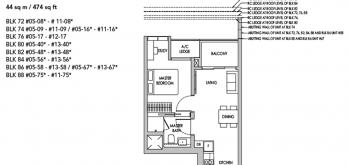 sengkang-grand-residences-1-bedroom-floor-plan