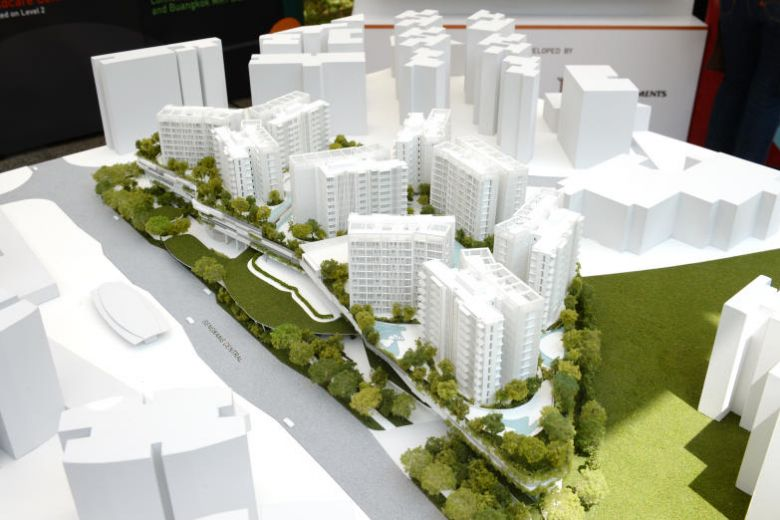 new buangkok condo development at sengkang central site