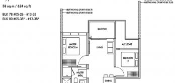 sengkang-grand-residences-2-bedroom-floor-plan-layout